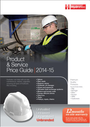 Hydratec's product and Service Guide