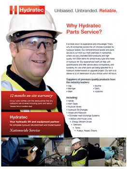 why hydratec parts