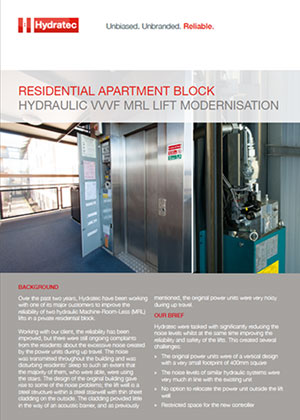 front cover modernisation case study residential